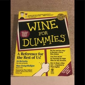 Other - Wine for Dummies